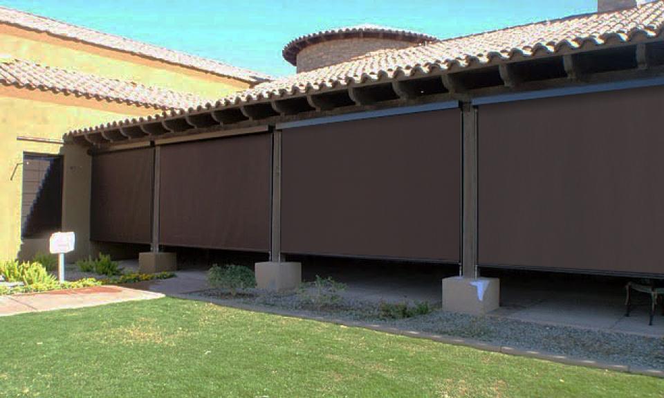 Cortinas exteriores cortina para exterior proteger for Cortinas plastico para exteriores